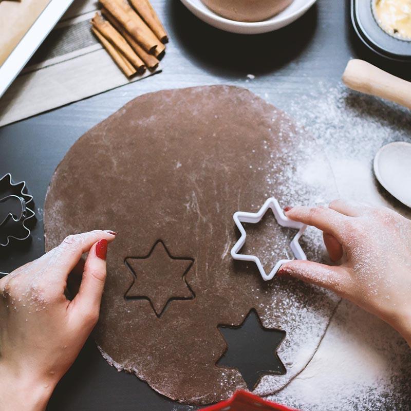 Sugar free, gluten free gingerbread cookies