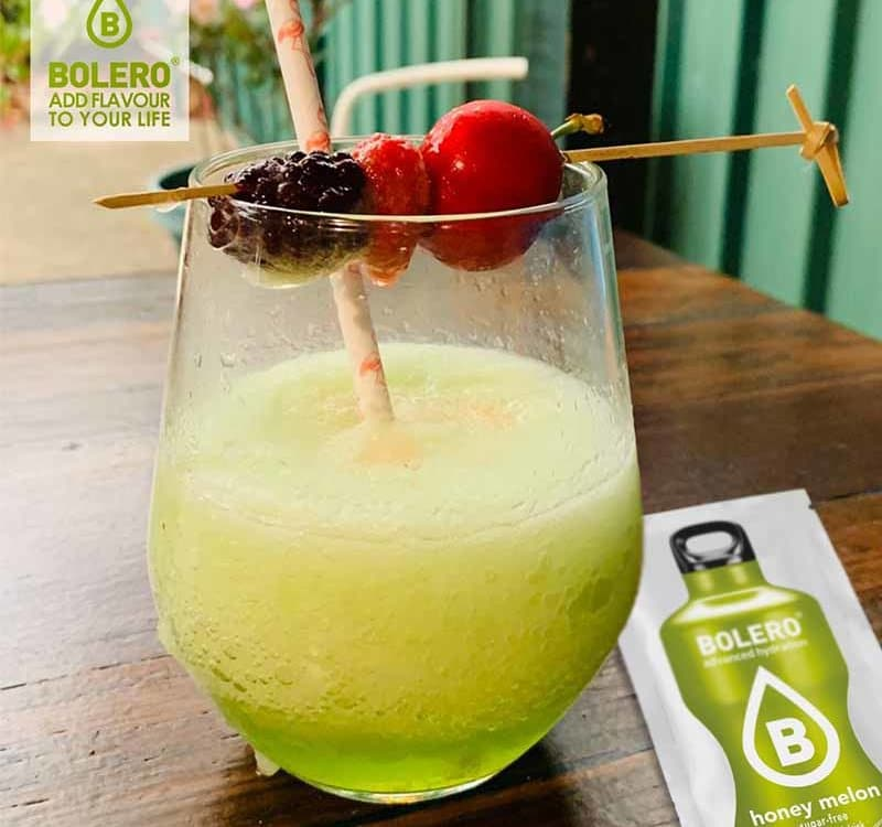 Midori honey melon cocktail